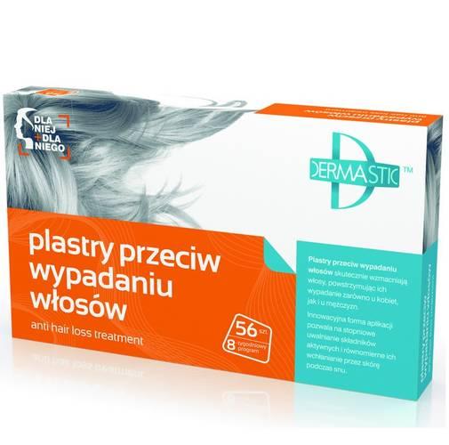 dermastic plastry przeciw wypadaniu włosów skład