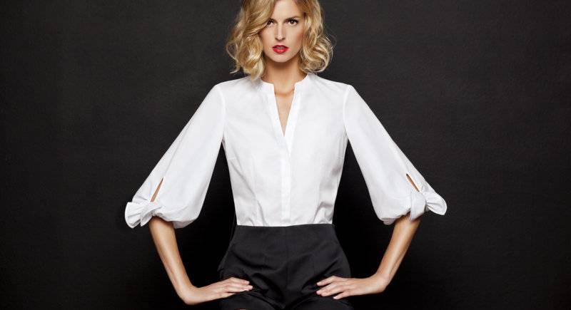 Carolina herrera white shirts collection kolekcja for Carolina herrera white shirt collection