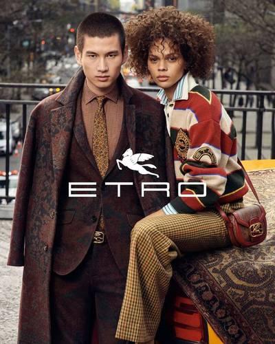 new arrival faa15 e3eac Etro - kampania jesień-zima 2019/20 - Moda / Na świecie ...