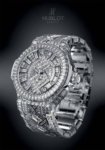 "a6b2c36bd98a46 Hublot ""5 Million Dollar Diamond Watch"" - najdroższy zegarek na ..."