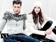 "Odtwórz Armani Exchange Holiday 2012 - kampania ""Winter WonderLuxe"""